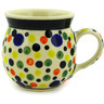 8 oz Stoneware Bubble Mug - Polmedia Polish Pottery H4816D