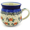 8 oz Stoneware Bubble Mug - Polmedia Polish Pottery H4821D