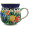 8 oz Stoneware Bubble Mug - Polmedia Polish Pottery H4885K