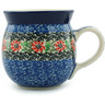 8 oz Stoneware Bubble Mug - Polmedia Polish Pottery H5269I