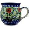 8 oz Stoneware Bubble Mug - Polmedia Polish Pottery H5601B