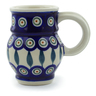 8 oz Stoneware Bubble Mug - Polmedia Polish Pottery H6061J