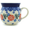 8 oz Stoneware Bubble Mug - Polmedia Polish Pottery H6113H