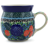 8 oz Stoneware Bubble Mug - Polmedia Polish Pottery H6208B