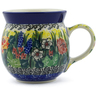 8 oz Stoneware Bubble Mug - Polmedia Polish Pottery H6579E