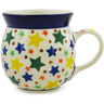 8 oz Stoneware Bubble Mug - Polmedia Polish Pottery H6679J