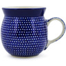8 oz Stoneware Bubble Mug - Polmedia Polish Pottery H6709J