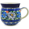 8 oz Stoneware Bubble Mug - Polmedia Polish Pottery H6732J