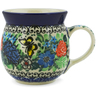 8 oz Stoneware Bubble Mug - Polmedia Polish Pottery H6765J