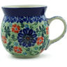 8 oz Stoneware Bubble Mug - Polmedia Polish Pottery H6859B