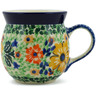 8 oz Stoneware Bubble Mug - Polmedia Polish Pottery H6876B