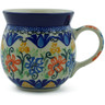 8 oz Stoneware Bubble Mug - Polmedia Polish Pottery H6878B