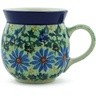 8 oz Stoneware Bubble Mug - Polmedia Polish Pottery H7069B