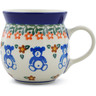 8 oz Stoneware Bubble Mug - Polmedia Polish Pottery H8294A