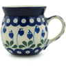 8 oz Stoneware Bubble Mug - Polmedia Polish Pottery H8387B