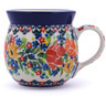 8 oz Stoneware Bubble Mug - Polmedia Polish Pottery H9052G