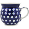 8 oz Stoneware Bubble Mug - Polmedia Polish Pottery H9262A