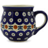 8 oz Stoneware Bubble Mug - Polmedia Polish Pottery H9414J