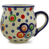 8 oz Stoneware Bubble Mug - Polmedia Polish Pottery H9502J