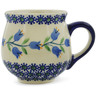 8 oz Stoneware Bubble Mug - Polmedia Polish Pottery H9543J