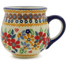 8 oz Stoneware Bubble Mug - Polmedia Polish Pottery H9644J