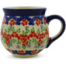 8 oz Stoneware Bubble Mug - Polmedia Polish Pottery H9750J