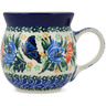 8 oz Stoneware Bubble Mug - Polmedia Polish Pottery H9826K