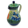 8 oz Stoneware Creamer with Lid - Polmedia Polish Pottery H6018G