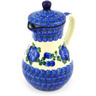 8 oz Stoneware Creamer with Lid - Polmedia Polish Pottery H6416F