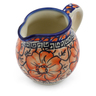 8 oz Stoneware Pitcher - Polmedia Polish Pottery H4921F