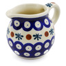 8 oz Stoneware Pitcher - Polmedia Polish Pottery H6182F