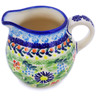 8 oz Stoneware Pitcher - Polmedia Polish Pottery H8213K