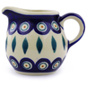 8 oz Stoneware Pitcher - Polmedia Polish Pottery H9876I