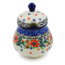 8 oz Stoneware Sugar Bowl - Polmedia Polish Pottery H1532K