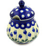 8 oz Stoneware Sugar Bowl - Polmedia Polish Pottery H2289D
