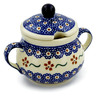 8 oz Stoneware Sugar Bowl - Polmedia Polish Pottery H4331J