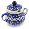 8 oz Stoneware Sugar Bowl - Polmedia Polish Pottery H4459J