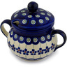 8 oz Stoneware Sugar Bowl - Polmedia Polish Pottery H8357C