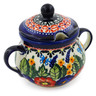 8 oz Stoneware Sugar Bowl - Polmedia Polish Pottery H8885B