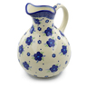 83 oz Stoneware Pitcher - Polmedia Polish Pottery H4229J