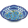 9-inch Stoneware Bowl with Holes - Polmedia Polish Pottery H0700H