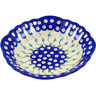 9-inch Stoneware Bowl with Holes - Polmedia Polish Pottery H0931F