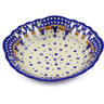 9-inch Stoneware Bowl with Holes - Polmedia Polish Pottery H8779E