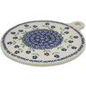 9-inch Stoneware Cutting Board - Polmedia Polish Pottery H7888K