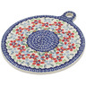 9-inch Stoneware Cutting Board - Polmedia Polish Pottery H7916K