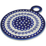 9-inch Stoneware Cutting Board - Polmedia Polish Pottery H9132B