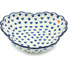 9-inch Stoneware Fluted Bowl - Polmedia Polish Pottery H5673H