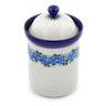 9-inch Stoneware Jar with Lid - Polmedia Polish Pottery H2792J