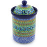 9-inch Stoneware Jar with Lid - Polmedia Polish Pottery H3315G