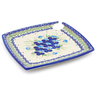 9-inch Stoneware Party Plate - Polmedia Polish Pottery H2657J
